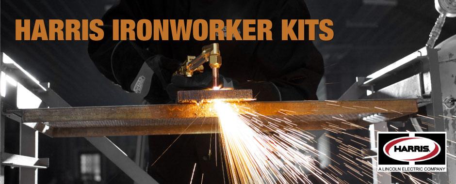 Harris Ironworker Kits   WeldingAndCuting com